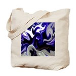 Blue Iris Home Decor Tote Bag