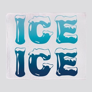 Ice Ice Maternity Design Throw Blanket