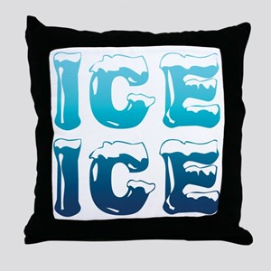 Ice Ice Maternity Design Throw Pillow