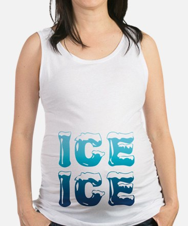 Ice Ice Maternity Design Maternity Tank Top