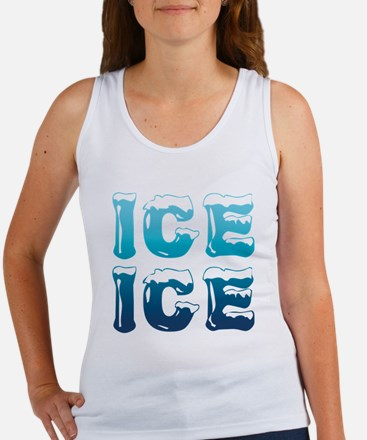 Ice Ice Maternity Design Tank Top