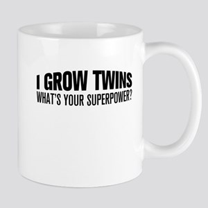 I Grow Twins, What's Your Superpower Mugs