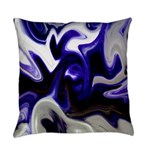 Blue Iris Home Decor Everyday Pillow