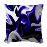 Blue Iris Home Decor Woven Throw Pillow