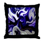 Blue Iris Home Decor Throw Pillow