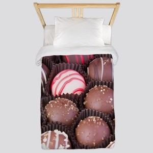 Chocolate Truffles Photography Twin Duvet