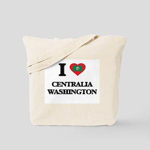 I love Centralia Washington Tote Bag