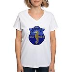 USS INGRAHAM Women's V-Neck T-Shirt