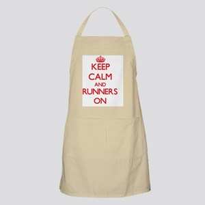 Keep Calm and Runners ON Apron