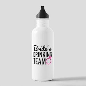 Bride's Drinking Team Water Bottle