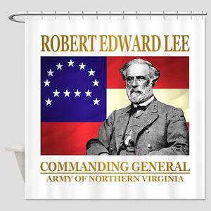 Robert E Lee Shower Curtain