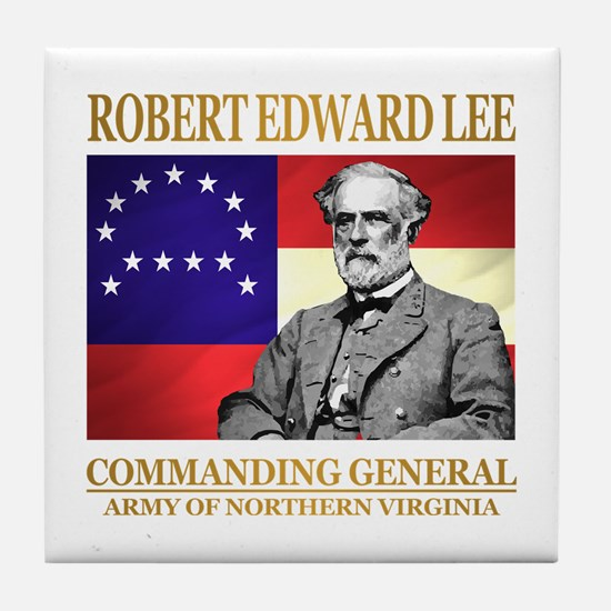 Robert E Lee Tile Coaster