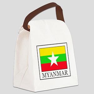 Myanmar Canvas Lunch Bag
