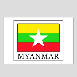 Myanmar Postcards (Package of 8)