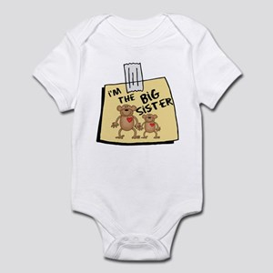 I'm The Big Sister Cute Baby bodysuits