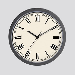 Shaker Style Antiqued Wall Clock