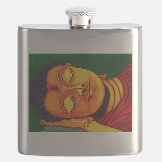 Resting his eyes Flask