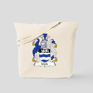 Mole Family Crest Tote Bag