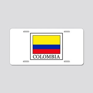 Colombia Aluminum License Plate