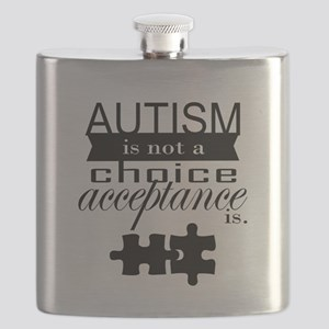 Autism is not a Choice, Acceptance is. Flask