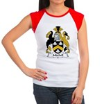 Mitchel Family Crest Women's Cap Sleeve T-Shirt