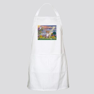 Cloud Angel & Chihuahua BBQ Apron
