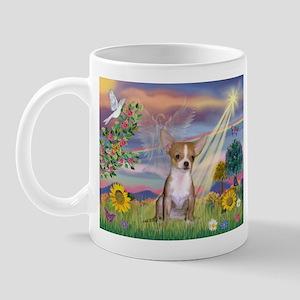 Cloud Angel & Chihuahua Mug