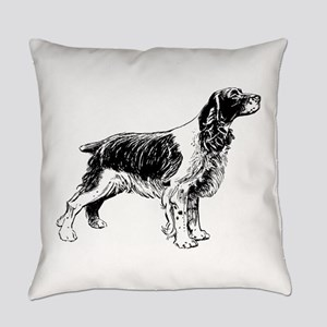 Springer Spaniel Everyday Pillow