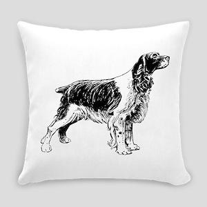 Springer Spaniel Everyday Pillow