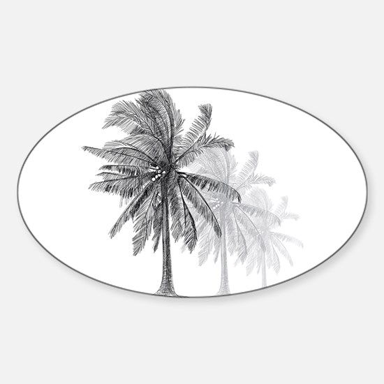 Palm Trees Decal