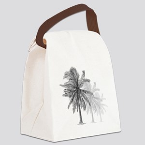 Palm Trees Canvas Lunch Bag