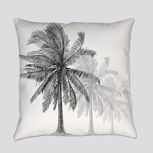 Palm Trees Everyday Pillow