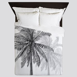 Palm Trees Queen Duvet