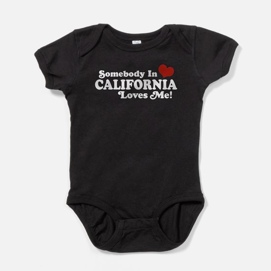 Cute Made in california Baby Bodysuit