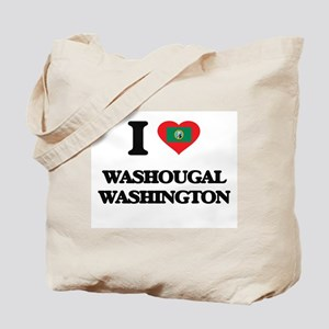 I love Washougal Washington Tote Bag