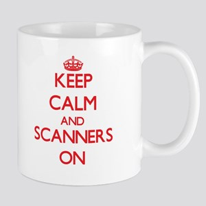 Keep Calm and Scanners ON Mugs
