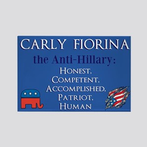Carly Fiorina Rectangle Magnet