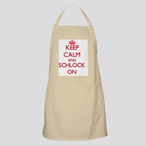 Keep Calm and Schlock ON Apron
