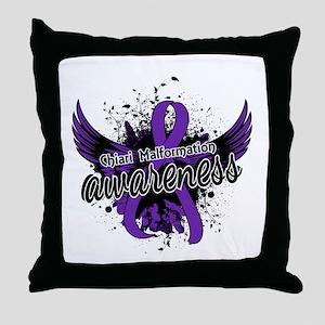 Chiari Awareness 16 Throw Pillow