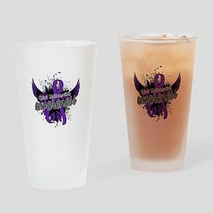 Chiari Awareness 16 Drinking Glass