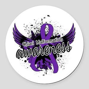 Chiari Awareness 16 Round Car Magnet