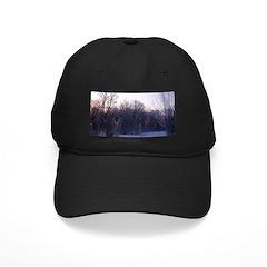Whitetail Deer Winter Baseball Hat Baseball Hat