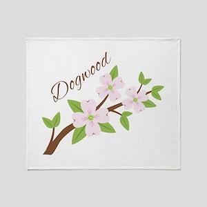 Dogwood Throw Blanket