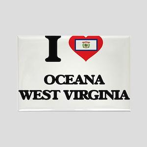 I love Oceana West Virginia Magnets