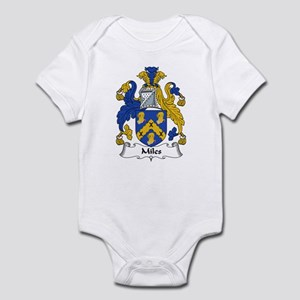 Miles Family Crest Infant Bodysuit