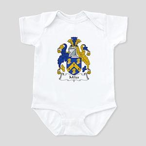 Miles Family Crest Infant Bodysuit