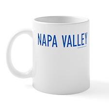 NAPA VALLEY (Blue) - Mug
