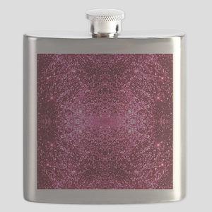 pink glitter Flask