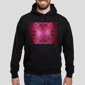 pink glitter Hoodie (dark)