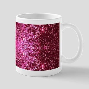 pink glitter Mugs